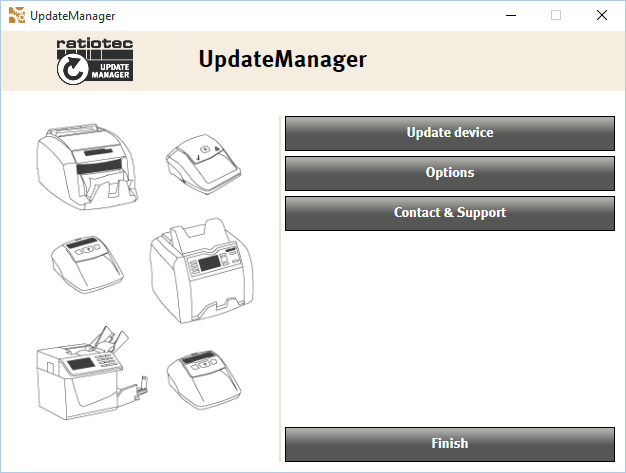 Update manager first page preview